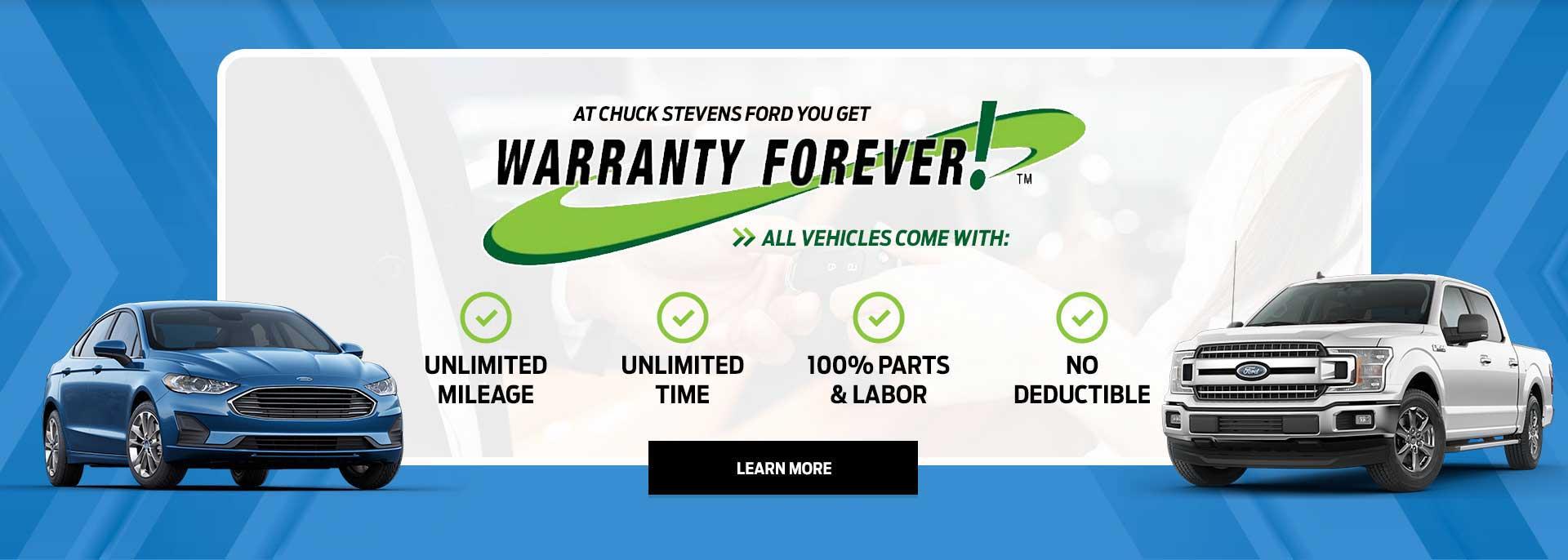 Banner Warranty Forever