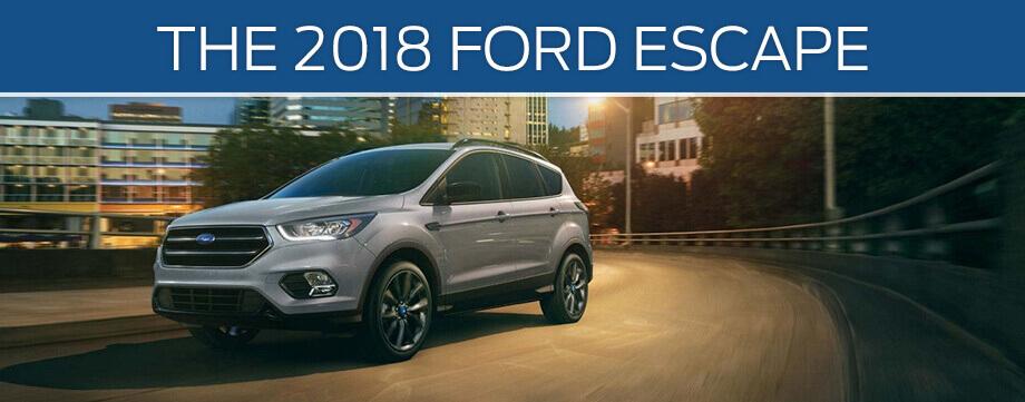 2018 Ford Escape silver