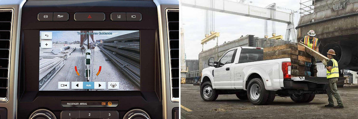 Safety Features in the 2018 F-250