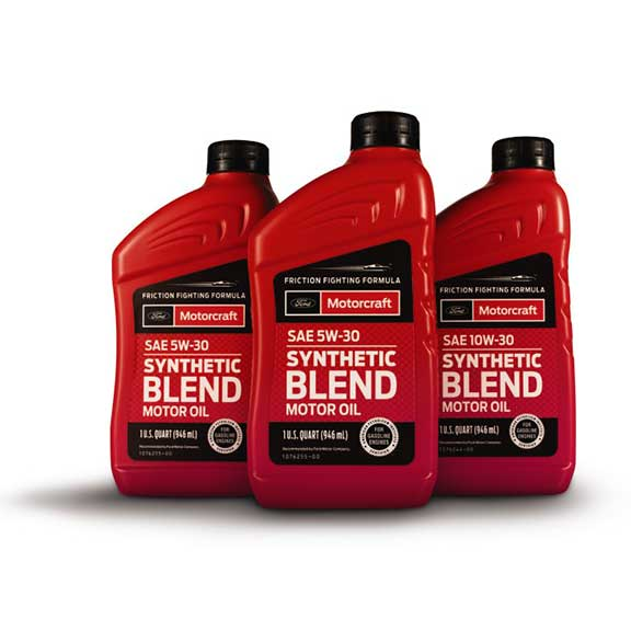 Synthetic Blend Motor Oil