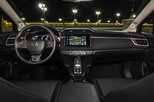 Honda Clarity Plug-In Hybrid Interior