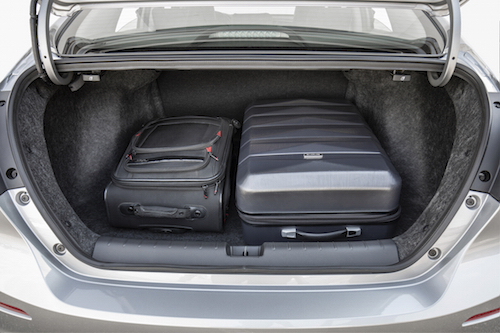 2019 Honda Insight Trunk