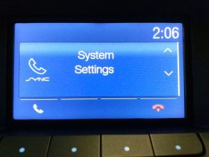 Doing A Ford Sync Master Reset