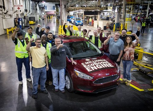 Last Week The 5 Millionth Vehicle With A Ford Ecoboost Engine Was Built At S Michigan Embly Plant In Wayne Mi Focus Sfe 1 0 Liter
