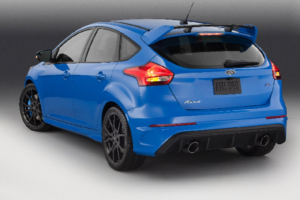 Ford Focus Rs Makes North American Debut