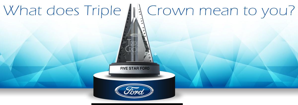 5 Star Ford Dealership Awards Recognition