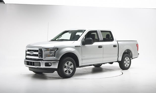 Ford F-150 Only Full-Size Pickup To Earn 2016 IIHS Top Safety Pick