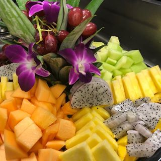 Prettiest fruit display  Contact us for your next event banquet or luncheon SWOON fruit healthyfood healthyvibes sweettooth colors eat foodie yum tasty breakfast brunch lunch dinner dessert lafoodie getitatgalpin galpinrestaurant horselesscarriagerestaurant catering