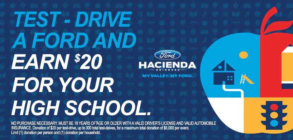 Hacienda Ford Edinburg Tx >> Drive 4UR School Program at Hacienda Ford in Edinburg, TX