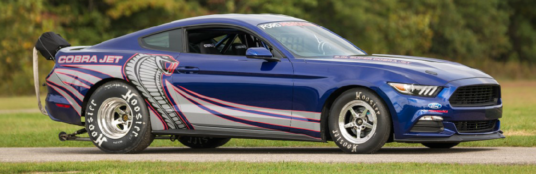 New 2016 Ford Mustang Cobra Jet Drag Race Car