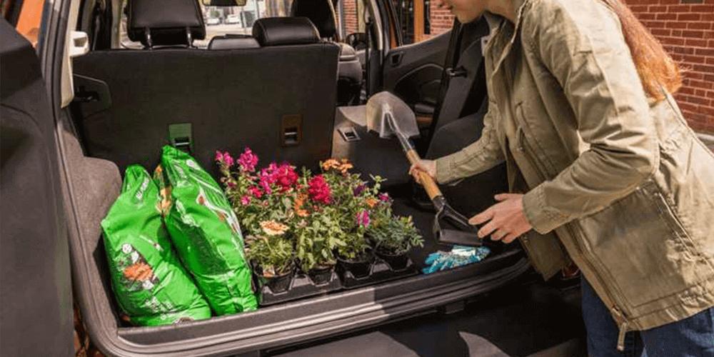 2018 Ford EcoSport 60/40 fold-flat rear seat backs