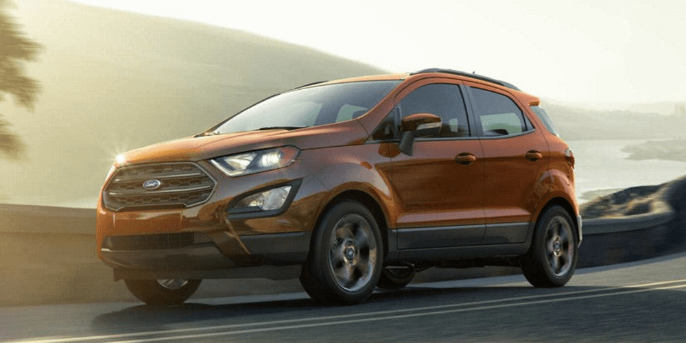 2018 Ford EcoSport SES. Drive the good life.