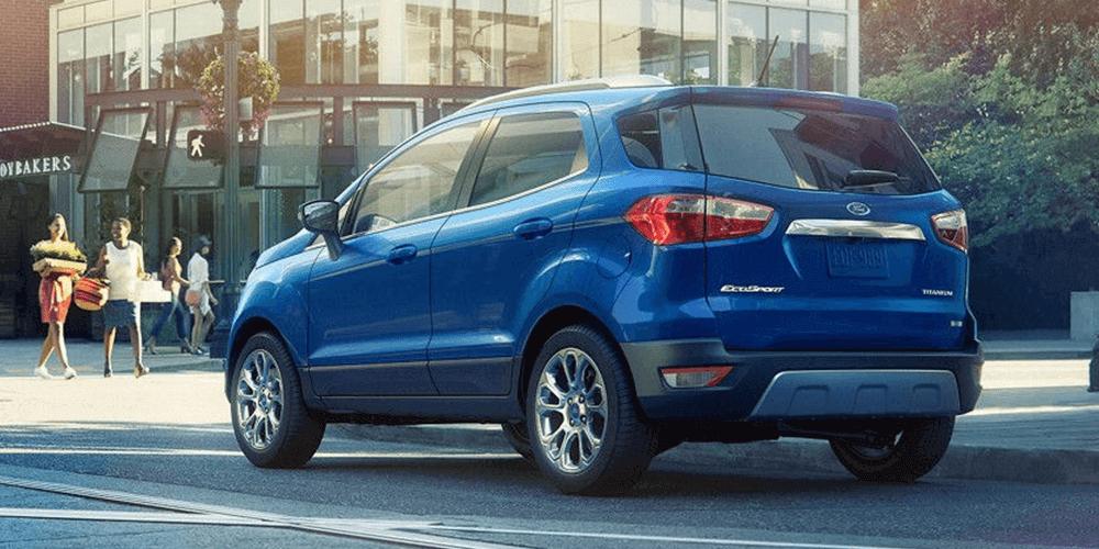 2018 Ford EcoSport Auto Start-Stop Technology