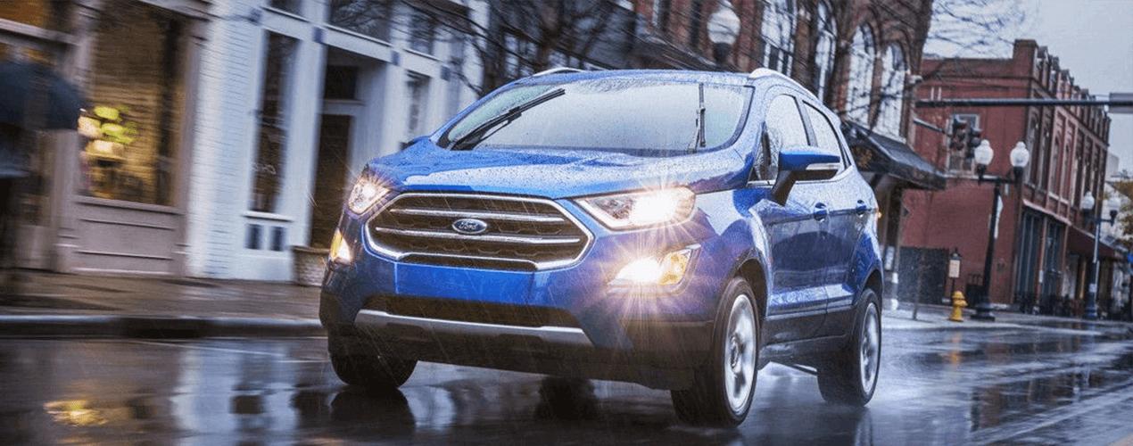 New 2018 Ford EcoSport versatile seating