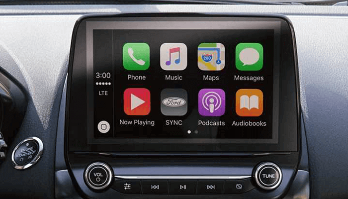 New 2018 Ford EcoSport Available full-color 8-inch touchscreen.