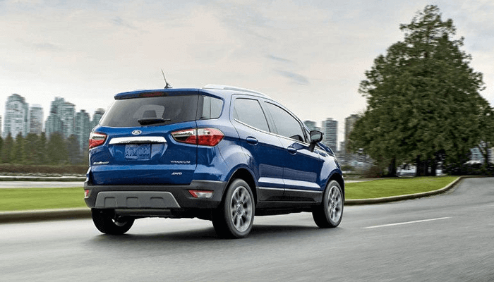 New 2018 Ford EcoSport 2.0L Ti-VCT (GDI) engine