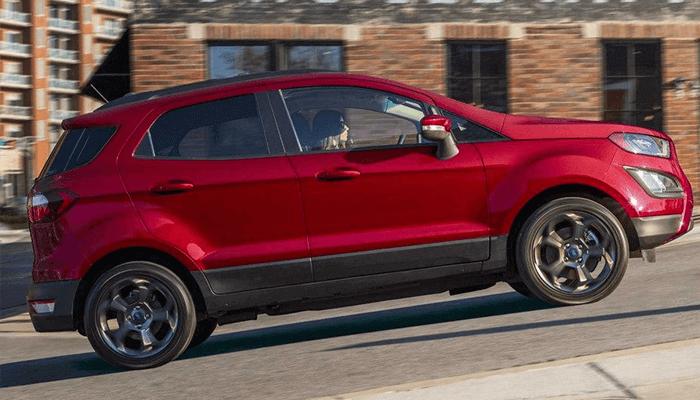 New 2018 Ford EcoSport hill start assist