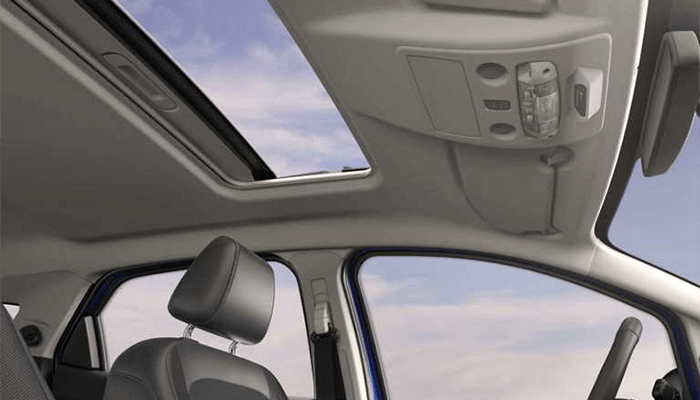 New 2018 Ford EcoSport power moonroof