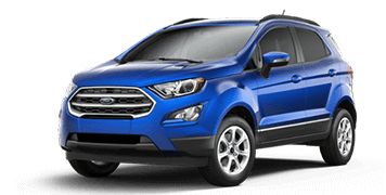 2018 FORD EcoSport SE at McRee Ford in Dickinson
