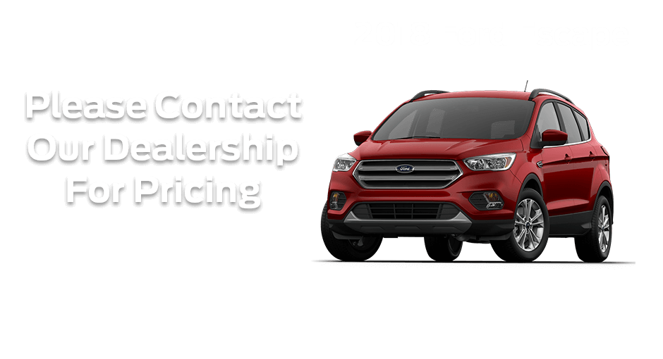 Check out these new car finance specials on the all new Ford Escape. Contact our dealership in Dickinson for more details!