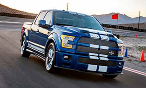 Shelby F-150 Super Snake standard performance features