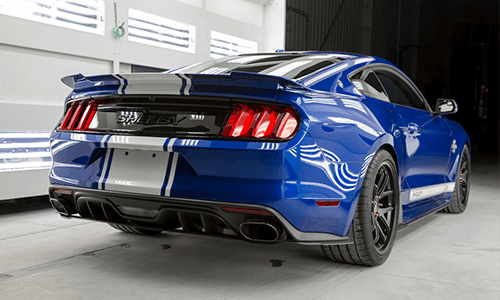 Shelby Mustang Super Snake standard exterior features