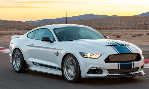 Shelby Mustang Super Snake optional exterior features