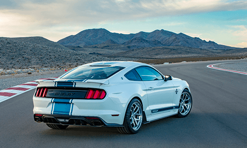 Shelby Mustang Super Snake optional 750+HP Features
