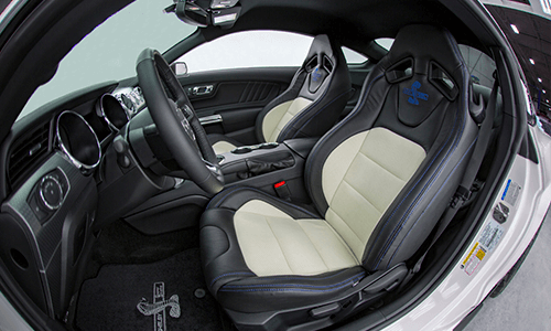 Shelby Mustang Super Snake 670HP standard interior features