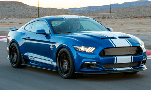 Shelby Mustang Super Snake 670HP standard performance features