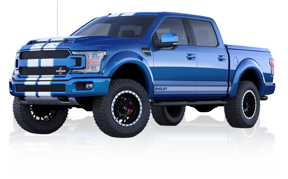 Tuscany custom Ford F-150 Shelby lifted truck for sale at McRee Ford near Houston