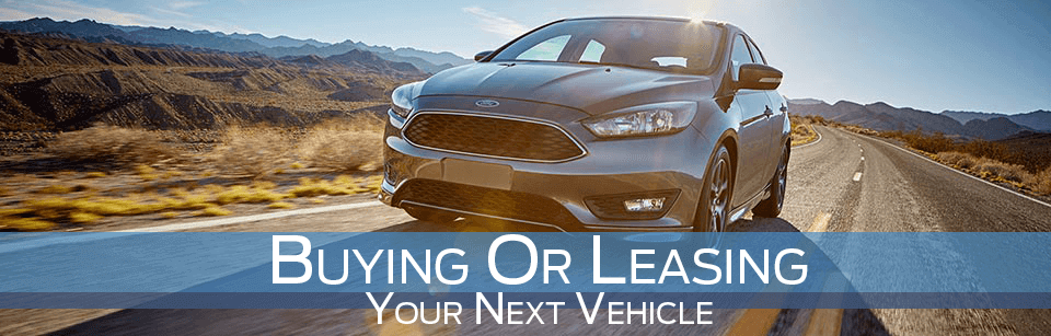 Leasing vs Buying a new Ford car at McRee Ford