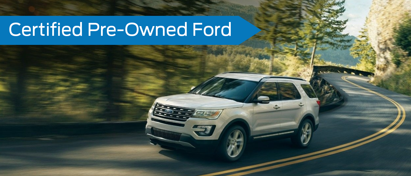 Certified Pre-Owned Ford information in Dickinson