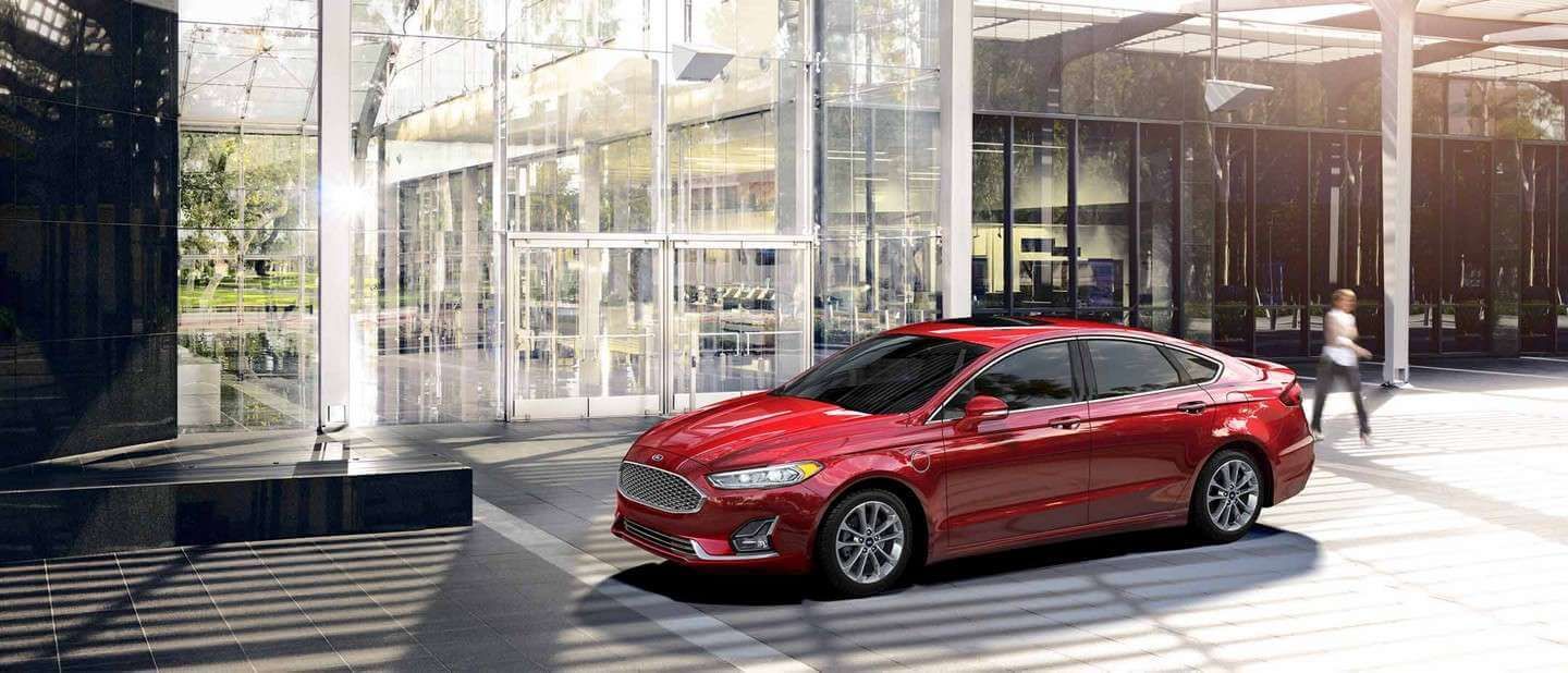 New 2019 Ford Fusion Exterior Design