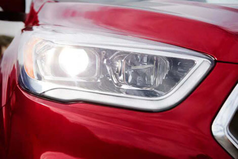 2018 Ford Escape BI-XENON HID HEADLAMPS WITH SIGNATURE LIGHTNING