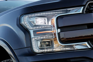 2018 Ford F-150 QUAD BEAM LED HEADLAMPS AND LED TAILLAMPS