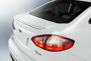 2018 Ford Fiesta REAR DECKLID SPOILER