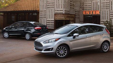 2018 Ford Fiesta STYLISH SEDAN AND VERSATILE HATCH