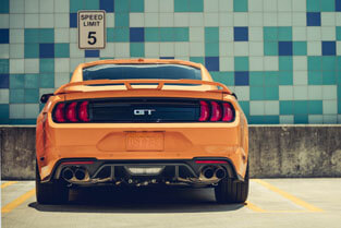 2018 Ford Mustang GT DUAL EXHAUST WITH QUAD TIPS