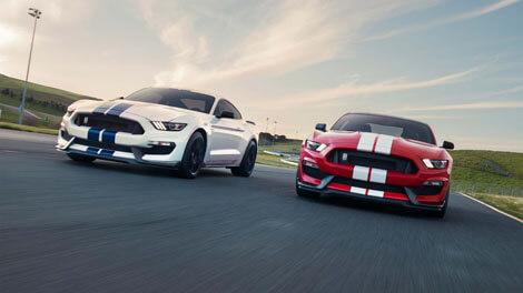 2018 Ford Mustang LEGENDARY PERFORMANCE. FUTURISTIC TECH.