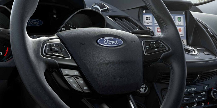 New 2018 Ford Escape ERGONOMIC STEERING WHEEL WITH AVAILABLE HEAT FEATURE