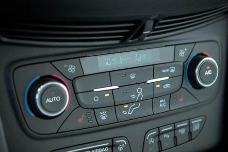 2018 Ford Escape DUAL-ZONE ELECTRONIC AUTOMATIC TEMPERATURE CONTROL