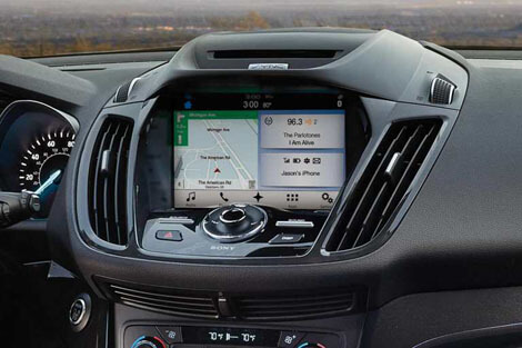 2018 Ford Escape SIRIUSXM™ SATELLITE RADIO AND NAVIGATION WITH SIRIUSXM™ TRAFFIC WITH TRAVEL LINK®