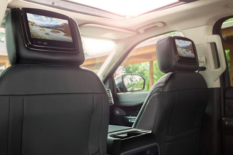 2018 Ford Expedition DUAL-HEADREST REAR-SEAT ENTERTAINMENT SYSTEM