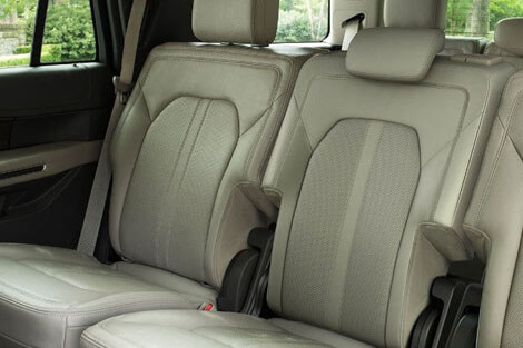 Ford Expedition Seating Flexibility