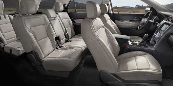 New 2018 Ford Explorer SEATING FOR UP TO SEVEN