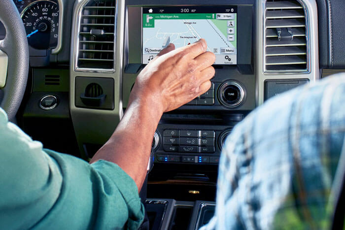 New 2018 Ford F-150 VOICE-ACTIVATED NAVIGATION WITH SIRIUSXM™ TRAFFIC AND TRAVEL LINK®