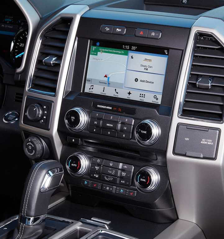 2018 Ford F 150 Interior Gallery Image