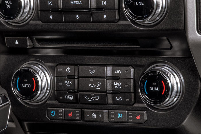 New 2018 Ford F-150 DUAL-ZONE ELECTRONIC AUTOMATIC TEMPERATURE CONTROL