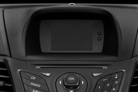 2018 Ford Fiesta MULTIFUNCTIONAL MESSAGE CENTER WITH LCD SCREEN